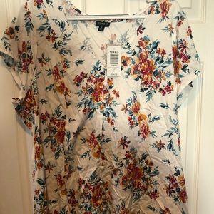 Torrid flowery shirt